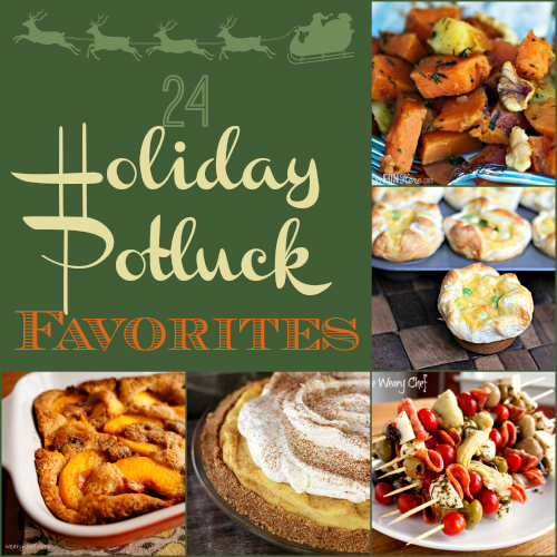 24 Holiday Potluck Recipes